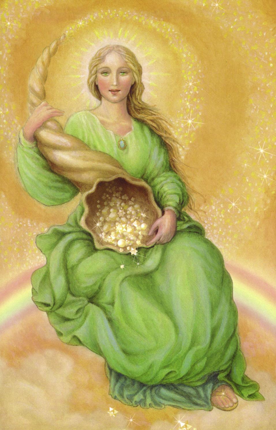 Абунданция - Прекрасная богиня успеха, процветания, достатка и удачливой судьбы