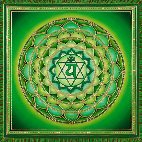Четвертая, сердечная чакра — Анахата
